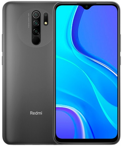 Xiaomi Redmi 9 4/64GB (NFC) Black