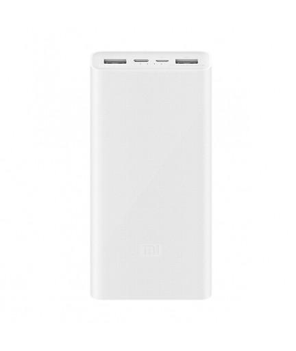 Внешний аккумулятор Xiaomi Power Bank 3 20000 mAh (Белый) купить в Уфе   Обзор   Отзывы   Характеристики   Сравнение
