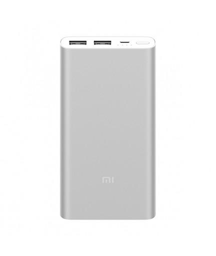 Внешний аккумулятор Xiaomi Mi Powerbank-2s 2USB 10000mAh (Silver) купить в Уфе | Обзор | Отзывы | Характеристики | Сравнение