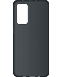 Силиконовая накладка Silky soft-touch Xiaomi Mi 10T/10T Pro (Черная)