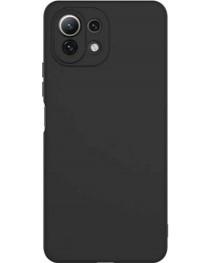 Силиконовая накладка Silky soft touch Xiaomi Mi 11 Lite (Черная) купить в Уфе | Обзор | Отзывы | Характеристики | Сравнение