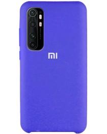Силиконовая накладка Silky soft-touch Xiaomi Mi Note 10 Lite (Голубая) купить в Уфе | Обзор | Отзывы | Характеристики | Сравнение