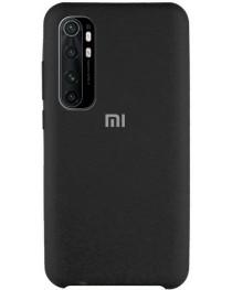 Силиконовая накладка Silky soft-touch Xiaomi Mi Note 10 Lite (Черная) купить в Уфе | Обзор | Отзывы | Характеристики | Сравнение
