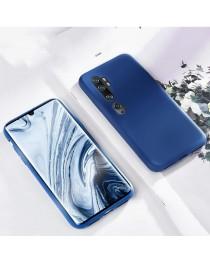 Силиконовая накладка Silky soft-touch Xiaomi Mi Note 10 (Синяя) купить в Уфе | Обзор | Отзывы | Характеристики | Сравнение