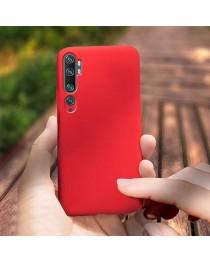 Силиконовая накладка Silky soft-touch Xiaomi Mi Note 10 (Красная) купить в Уфе | Обзор | Отзывы | Характеристики | Сравнение