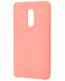Накладка Silky soft-touch для Xiaomi Redmi Note 4X (Розовая) купить в Уфе | Обзор | Отзывы | Характеристики | Сравнение