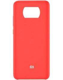 Силиконовая накладка Silky soft touch Poco X3 NFC (Красная) купить в Уфе | Обзор | Отзывы | Характеристики | Сравнение
