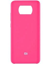 Силиконовая накладка Silky soft touch Poco X3 NFC (Розовая) купить в Уфе | Обзор | Отзывы | Характеристики | Сравнение