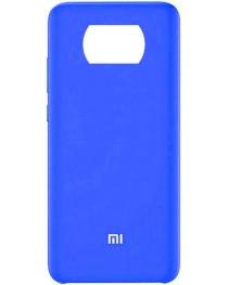 Силиконовая накладка Silky soft touch Poco X3 NFC (Синяя) купить в Уфе | Обзор | Отзывы | Характеристики | Сравнение