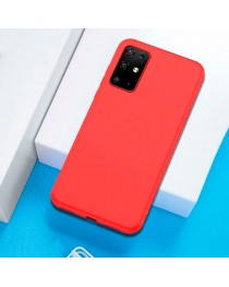 Силиконовая накладка тонкая 0.33 мм для Xiaomi Poco M3 (Красная) купить в Уфе | Обзор | Отзывы | Характеристики | Сравнение
