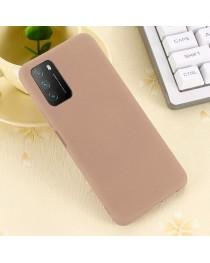 Силиконовая накладка Silky soft touch Xiaomi Poco M3 (Бежевая) купить в Уфе | Обзор | Отзывы | Характеристики | Сравнение
