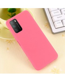 Силиконовая накладка Silky soft touch Xiaomi Poco M3 (Розовая) купить в Уфе | Обзор | Отзывы | Характеристики | Сравнение