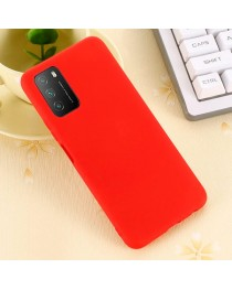 Силиконовая накладка Silky soft touch Xiaomi Poco M3 (Красная) купить в Уфе | Обзор | Отзывы | Характеристики | Сравнение