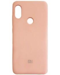 Силиконовая накладка Silky soft-touch Xiaomi Redmi 7 (Бежевая) купить в Уфе | Обзор | Отзывы | Характеристики | Сравнение