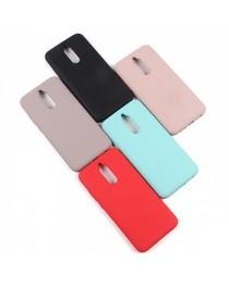 Силиконовая накладка Silky soft-touch Xiaomi Redmi 8 (Черная) купить в Уфе | Обзор | Отзывы | Характеристики | Сравнение