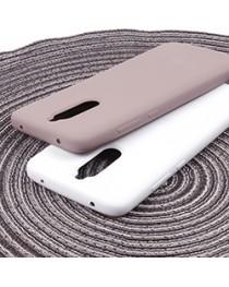 Силиконовая накладка Silky soft-touch Xiaomi Redmi 8 (Белая) купить в Уфе | Обзор | Отзывы | Характеристики | Сравнение