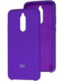 Силиконовая накладка Silky soft-touch Xiaomi Redmi 8 (Фиолетовая) купить в Уфе | Обзор | Отзывы | Характеристики | Сравнение
