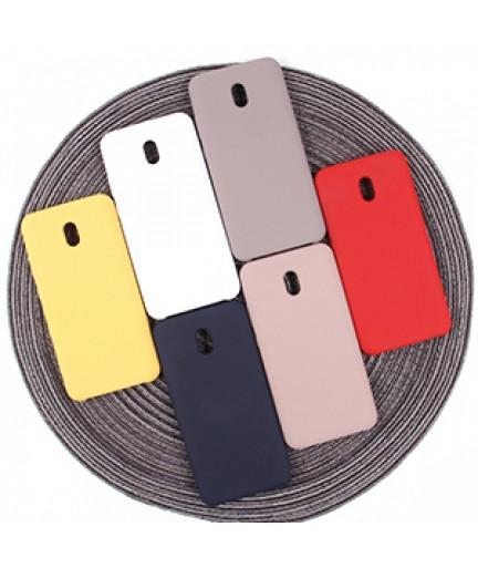 Силиконовая накладка Silky soft-touch Xiaomi Redmi 8A (Голубая) купить в Уфе   Обзор   Отзывы   Характеристики   Сравнение