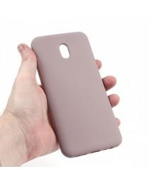Силиконовая накладка Silky soft-touch Xiaomi Redmi 8A (Бежевая) купить в Уфе | Обзор | Отзывы | Характеристики | Сравнение