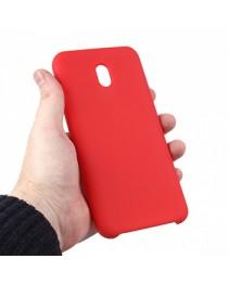 Силиконовая накладка Silky soft-touch Xiaomi Redmi 8A (Красная) купить в Уфе | Обзор | Отзывы | Характеристики | Сравнение
