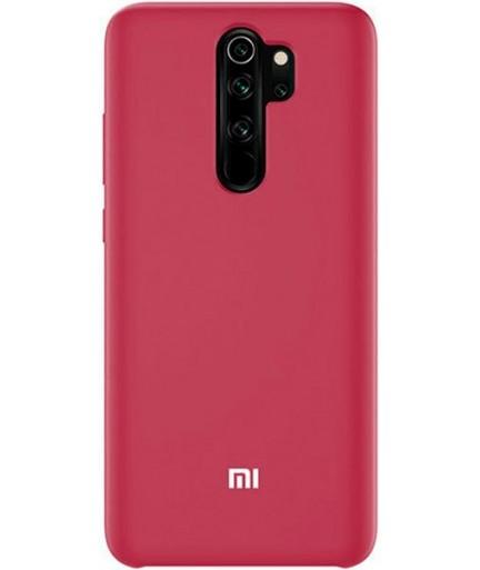 Силиконовая накладка Silky soft touch Xiaomi Redmi 9 (Бордовая) купить в Уфе | Обзор | Отзывы | Характеристики | Сравнение