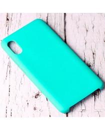 Силиконовая накладка Silky soft touch Xiaomi Redmi 9A (Бирюзовая) купить в Уфе | Обзор | Отзывы | Характеристики | Сравнение