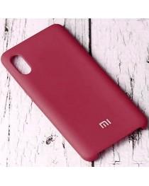 Силиконовая накладка Silky soft touch Xiaomi Redmi 9A (Бордовая) купить в Уфе | Обзор | Отзывы | Характеристики | Сравнение