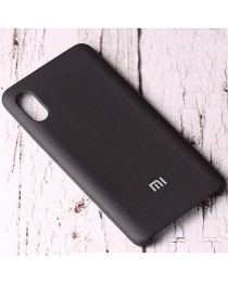 Силиконовая накладка Silky soft touch Xiaomi Redmi 9A (Черная) купить в Уфе | Обзор | Отзывы | Характеристики | Сравнение