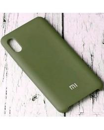 Силиконовая накладка Silky soft touch Xiaomi Redmi 9A (Хаки) купить в Уфе | Обзор | Отзывы | Характеристики | Сравнение
