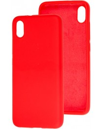 Силиконовая накладка Silky soft touch Xiaomi Redmi 9A (Красная) купить в Уфе | Обзор | Отзывы | Характеристики | Сравнение