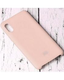 Силиконовая накладка Silky soft touch Xiaomi Redmi 9A (Кремовая) купить в Уфе | Обзор | Отзывы | Характеристики | Сравнение