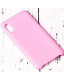 Силиконовая накладка Silky soft touch Xiaomi Redmi 9A (Розовая) купить в Уфе | Обзор | Отзывы | Характеристики | Сравнение