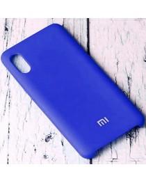 Силиконовая накладка Silky soft touch Xiaomi Redmi 9A (Синяя) купить в Уфе | Обзор | Отзывы | Характеристики | Сравнение