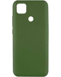 Силиконовая накладка Silky soft touch Redmi 9C (Хаки) купить в Уфе | Обзор | Отзывы | Характеристики | Сравнение