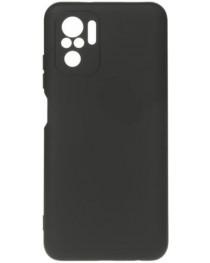 Силиконовая накладка Silicon Microfiber DF Redmi Note 10/10S (Черная) купить в Уфе | Обзор | Отзывы | Характеристики | Сравнение