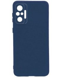 Силиконовая накладка Silicon Microfiber DF Redmi Note 10/10S (Синяя) купить в Уфе | Обзор | Отзывы | Характеристики | Сравнение