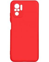 Силиконовая накладка Silicon Microfiber DF Redmi Note 10/10S (Красная) купить в Уфе | Обзор | Отзывы | Характеристики | Сравнение