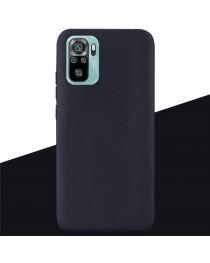 Силиконовая накладка Silky soft touch Redmi Note 10/10S (Черная) купить в Уфе | Обзор | Отзывы | Характеристики | Сравнение