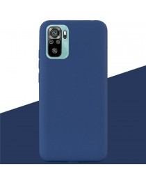 Силиконовая накладка Silky soft touch Redmi Note 10/10S (Синяя) купить в Уфе | Обзор | Отзывы | Характеристики | Сравнение
