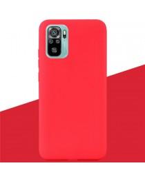 Силиконовая накладка Silky soft touch Redmi Note 10/10S (Красная) купить в Уфе | Обзор | Отзывы | Характеристики | Сравнение