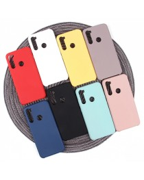 Силиконовая накладка Silky soft-touch Xiaomi Redmi Note 8 (Розовая) купить в Уфе | Обзор | Отзывы | Характеристики | Сравнение
