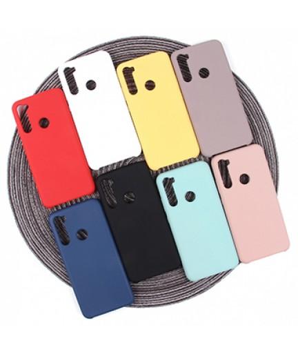 Силиконовая накладка Silky soft-touch Xiaomi Redmi Note 8 (Черная) купить в Уфе | Обзор | Отзывы | Характеристики | Сравнение