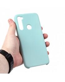Силиконовая накладка Silky soft-touch Xiaomi Redmi Note 8 (Голубая) купить в Уфе | Обзор | Отзывы | Характеристики | Сравнение