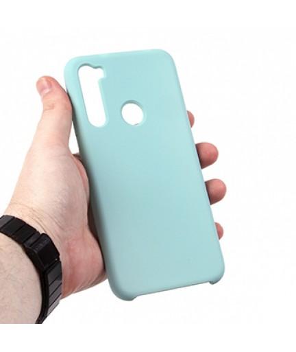 Силиконовая накладка Silky soft-touch Xiaomi Redmi Note 8 (Голубая) купить в Уфе   Обзор   Отзывы   Характеристики   Сравнение