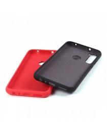 Силиконовая накладка Silky soft-touch Xiaomi Redmi Note 8 (Красная) купить в Уфе | Обзор | Отзывы | Характеристики | Сравнение