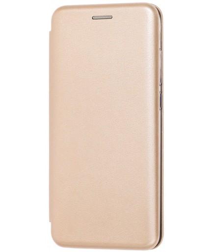 Чехол-книжка Premium Xiaomi Redmi Note 8 (Золотой) купить в Уфе | Обзор | Отзывы | Характеристики | Сравнение