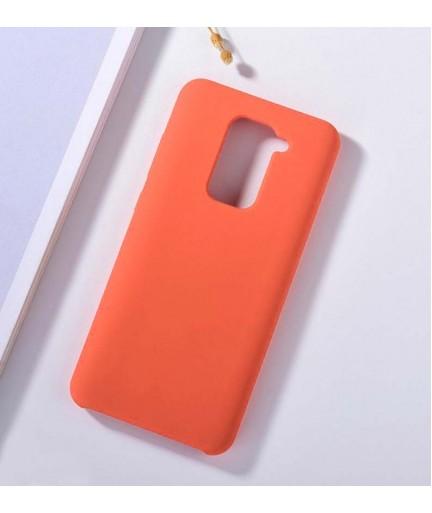 Силиконовая накладка Silky soft touch Xiaomi Redmi Note 9 (Коралловая) купить в Уфе | Обзор | Отзывы | Характеристики | Сравнение