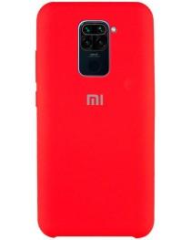 Силиконовая накладка Silky soft touch Xiaomi Redmi Note 9 (Красная) купить в Уфе | Обзор | Отзывы | Характеристики | Сравнение