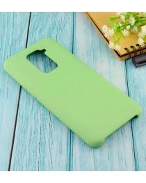 Силиконовая накладка Silky soft touch Xiaomi Redmi Note 9 (Салатовая) купить в Уфе | Обзор | Отзывы | Характеристики | Сравнение