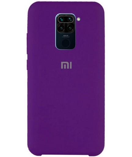 Силиконовая накладка Silky soft touch Xiaomi Redmi Note 9 (Фиолетовая) купить в Уфе | Обзор | Отзывы | Характеристики | Сравнение